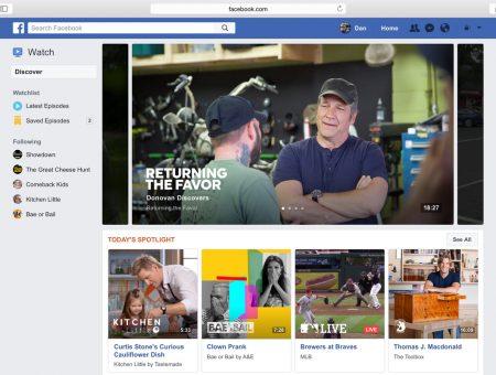 Facebook Televizyonun Sonunu Hazırlıyor
