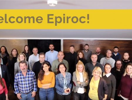 Welcome Epiroc!